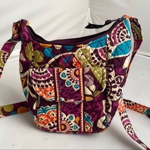 Vera Bradley Plum Crazy multicolor crossbody bag